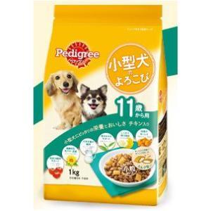 ペディグリー 小型犬のよろこび 11歳から用 チキン入り 1kg 【月間特売】|aquabase