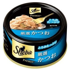 シーバ プレミオ 厳選かつお 75g 【特売】 aquabase