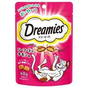 ドリーミーズ シーフード&チキン味 60g|aquabase