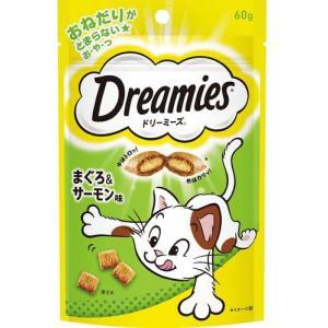 マースジャパン ドリーミーズ まぐろ&サーモン味 60g