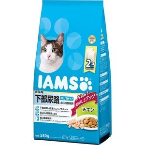 アイムス 成猫用 下部尿路とお口の健康維持 チキン 550g|aquabase