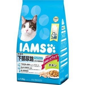 アイムス 成猫用 下部尿路とお口の健康維持 チキン 1.5kg|aquabase