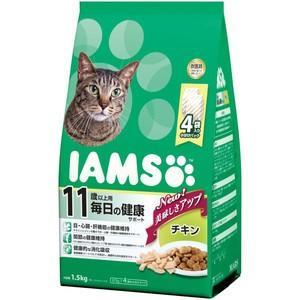アイムス 11歳以上用 毎日の健康サポート チキン 1.5kg|aquabase