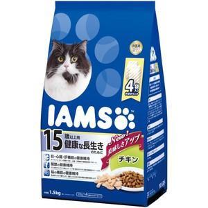 アイムス 15歳以上用 健康な長生きのために チキン 1.5kg|aquabase