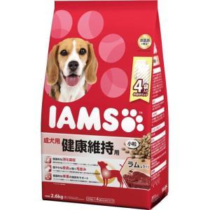 アイムス 成犬用 健康維持用 ラム&ライス 小粒 2.6kg|aquabase