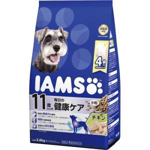 アイムス 11歳以上用 毎日の健康ケア チキン 小粒 2.6kg|aquabase