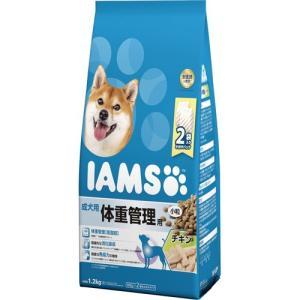 アイムス 成犬用 体重管理用 チキン 小粒 1.2kg|aquabase