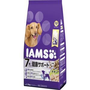 アイムス 7歳以上用 健康サポート チキン 小粒 1.2kg|aquabase
