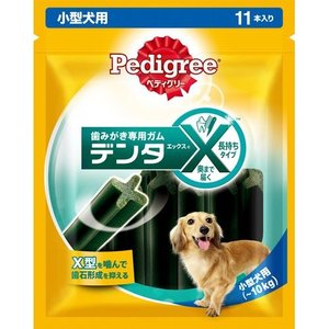 ペディグリー デンタエックス 小型犬用 レギュラー 11本入|aquabase
