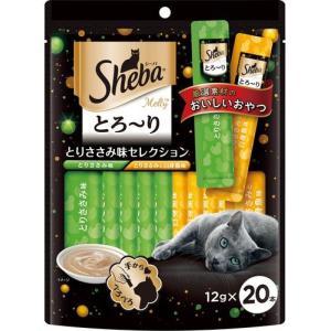 シーバ とろーりメルティ とりささみ味セレクション 12g×20本|aquabase