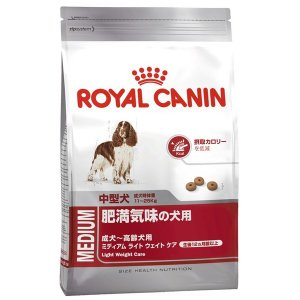ロイヤルカナン ミディアム ライト ウェイト ケア 成犬〜高齢犬用 3kg|aquabase