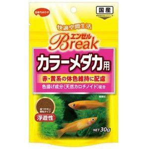 日本ペットフード エンゼルブレイク カラーメダカ用 30g|aquabase