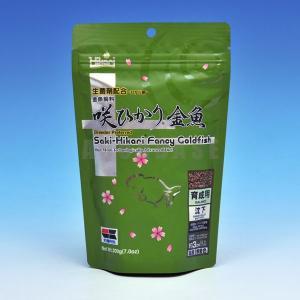 キョーリン 咲ひかり金魚 育成用 200g 緑|aquabase