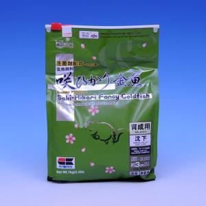 キョーリン 咲ひかり金魚 育成用 1kg 緑 【特売】|aquabase