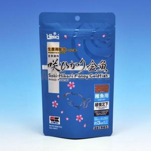 キョーリン 咲ひかり金魚 稚魚用 100g 青|aquabase