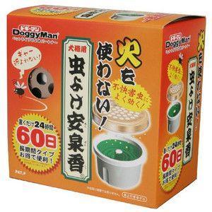 ドギーマン 薬用 蚊取り安泉香 60日|aquabase