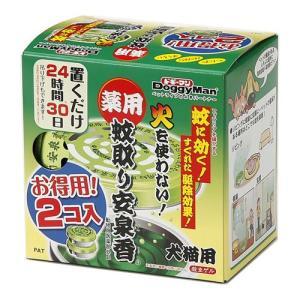 ドギーマン 薬用 蚊取り安泉香 お得用 2コ入|aquabase