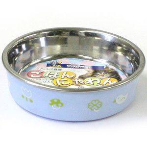 ドギーマン ステンレス食器 ごはんにゃわん 猫用 S ブルー aquabase