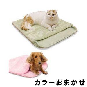 ドギーマンハヤシ ほわぽか 寝ぶくろ毛布 【カラーおまかせ】|aquabase