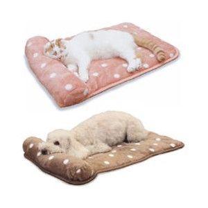 ドギーマンハヤシ 枕つきドットマット 【カラーおまかせ】|aquabase