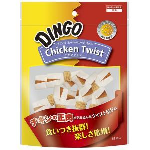 ディンゴ Dingo ミート・イン・ザ・ミドル チキンツイスト 15本入|aquabase