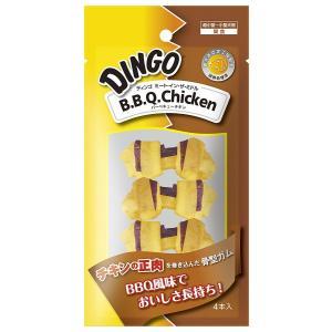 ディンゴ Dingo ミート・イン・ザ・ミドル BBQチキン ミニ 4本入|aquabase