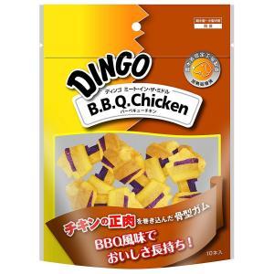 ディンゴ Dingo ミート・イン・ザ・ミドル BBQチキン ミニ 10本入|aquabase