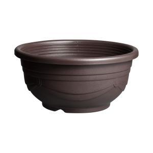 スドー メダカ鉢 黒茶 11号 【特殊梱包】|aquabase