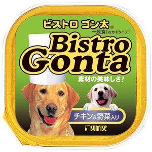 サンライズ  ビストロ ゴン太 チキン&野菜入り 100g 【特売】|aquabase