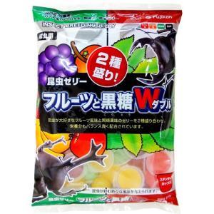 フジコン 昆虫ゼリー フルーツと黒糖W 50個入|aquabase