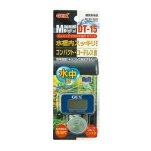 GEX ミニミニデジタル水温計 DT-15|aquabase
