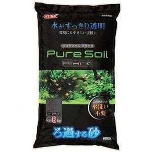 GEX ピュアソイル ブラック 8kg|aquabase