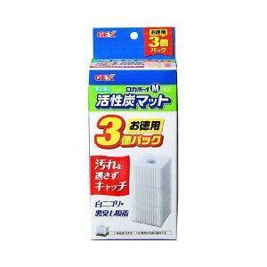 GEX ロカボーイ M 活性炭マット お徳用 3コ入|aquabase