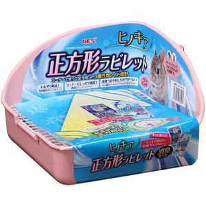 GEX ヒノキア 正方形ラビレット消臭セット ベビーピンク|aquabase