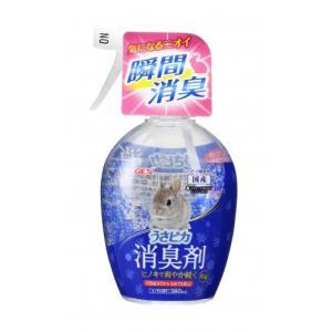 GEX うさピカ 消臭剤 ヒノキの香り 380ml|aquabase