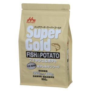 スーパーゴールド フィッシュ&ポテト 子犬・成犬用 低アレルゲンフード 800g 【特売】|aquabase