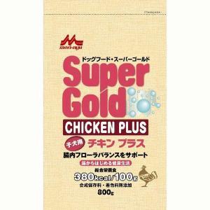 スーパーゴールド チキンプラス 子犬用 800g|aquabase