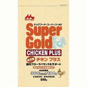 スーパーゴールド チキンプラス 成犬用 800g|aquabase
