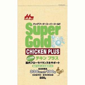 スーパーゴールド チキンプラス シニア犬用 800g|aquabase