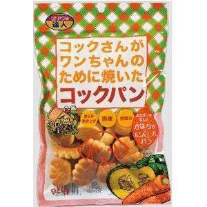 サンメイト コックさんがワンちゃんのために焼いたコックパン かぼちゃとにんじん味 95g|aquabase