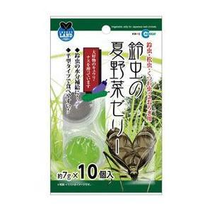 マルカン 鈴虫の夏野菜ゼリー 7g×10個|aquabase