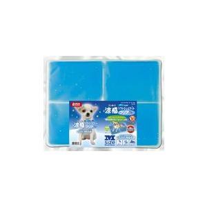 マルカン 涼感ソフトジェルマットクリア M ブルー|aquabase
