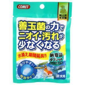 イトスイ コメット 納豆菌タブレット 淡水用 5個入|aquabase