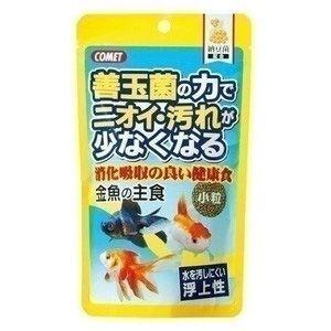イトスイ コメット 金魚の主食 納豆菌 小粒 200g aquabase