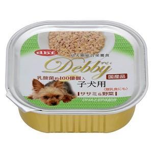 デビフ デビィ 子犬用 ササミ&野菜 100g 【特売】|aquabase