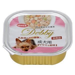 デビフ デビィ 成犬用 ササミ&野菜 100g 【特売】|aquabase
