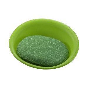 リッチェル ペットベッド オーバル S グリーン|aquabase