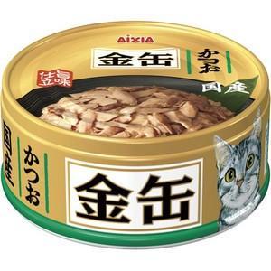 金缶ミニ かつお 70g|aquabase