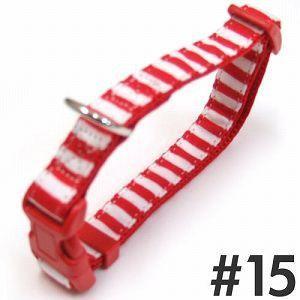 岡野製作所 ストライプカラー #15 赤/白|aquabase