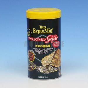テトラ レプトミンスーパー かめの基本食 310g|aquabase
